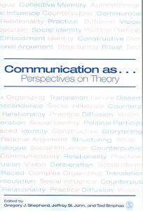 Communication as     Book