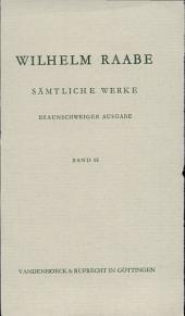 Sämtliche Werke: Band 15