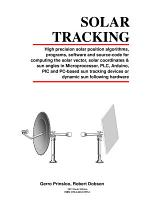 Sun Tracking and Solar Renewable Energy Harvesting
