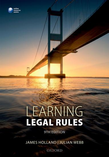Learning Legal Rules PDF