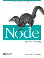 Node  Up and Running PDF