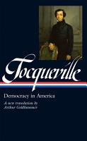Tocqueville  Democracy in America PDF