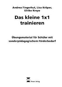 Das kleine 1x1 trainieren PDF