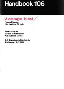 Assateague Island National Seashore  Maryland and Virginia PDF