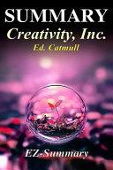 Summary - Creativity Inc.