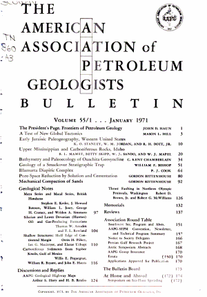 Bulletin of the American Association of Petroleum Geologists PDF