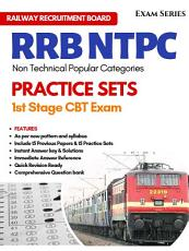 RRB NTPC Solved Practice Tests Stage I CBT Exam 1st Edition PDF