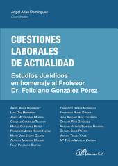 Cuestiones laborales de actualidad: Estudios jurídicos en homenaje al Profesor Dr. Feliciano González Pérez