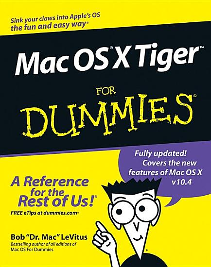 Mac OS X Tiger For Dummies PDF