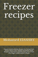 Freezer Recipes PDF