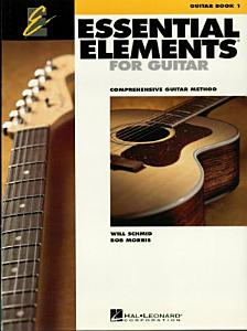 Essential Elements for Guitar  Book 1  Music Instruction  Book