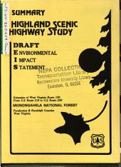 Monongahela National Forest (N.F.), WV-150, Highland Scenic Highway Extension: Environmental Impact Statement