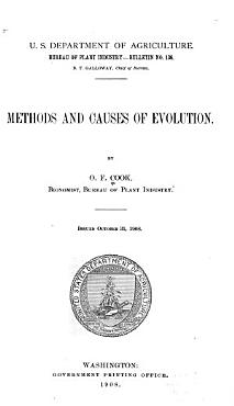 Methods and Causes of Evolution PDF