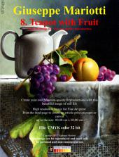 Teapot with Fruit: Still Life Image for Museum quality Reproduction