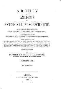 Archiv f  r Anatomie und Physiologie PDF