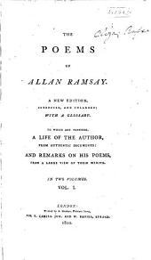The poems of Allan Ramsay: Volume 1