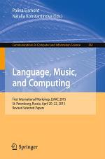 Language, Music, and Computing