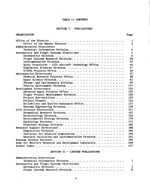 Ames Research Center Publications  July 1971 Through December 1973 PDF