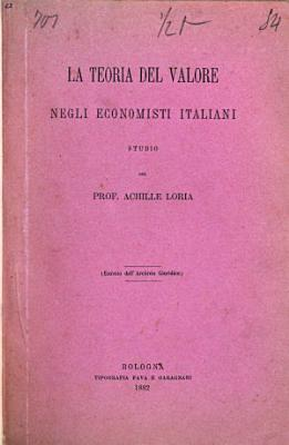 La teoria del valore negli economisti Italiani PDF