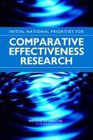 Initial National Priorities for Comparative Effectiveness Research PDF