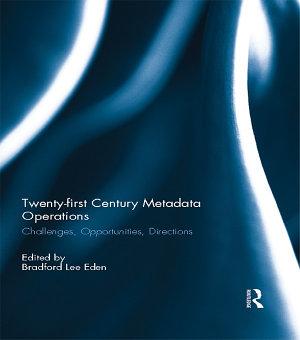 Twenty first Century Metadata Operations PDF