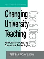 Changing University Teaching PDF