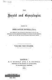 The Herald and Genealogist: Volume 8