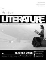 British Literature Teacher PDF