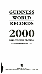 Guinness Book of Records 2000 PDF