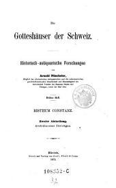 Die Gotteshaeuser der Schweiz