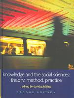 Knowledge and the Social Sciences PDF