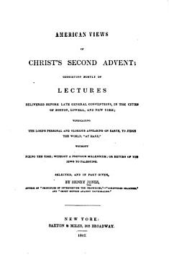 American Views of Christ s Second Advent PDF