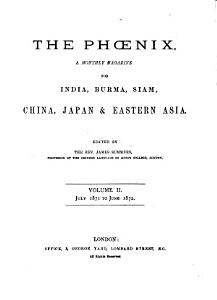 The Phoenix  a monthly magazine for China  Japan and eastern Asia  ed  by J  Summers PDF