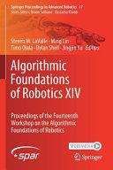 Algorithmic Foundations of Robotics XIV-Part A