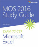 MOS 2016 Study Guide for Microsoft Excel PDF