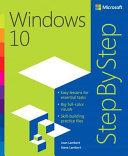 Windows 10 Step by Step PDF