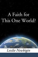 A Faith for this One World PDF
