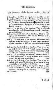 The true nature of imposture fully displayed in the life of Mahomet. With a discourse annexed, for the vindication of Christianity from this charge