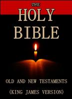 The Holy Bible   Old and New Testaments  King James Version  PDF