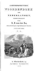 Aardrijkskundig woordenboek der Nederlanden: Volume 8