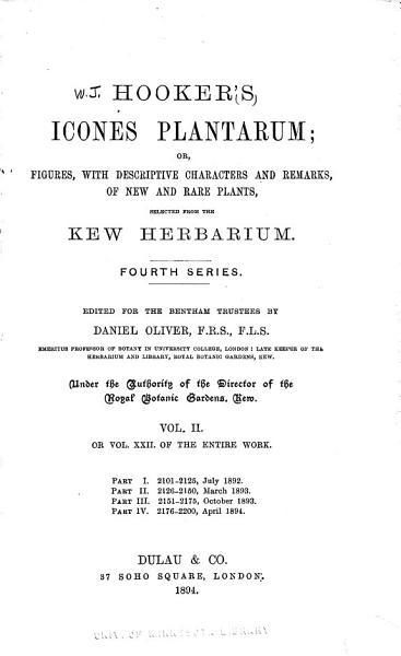 Icones Plantarum