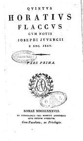Quintus Horatius Flaccus pars prima [-secunda]
