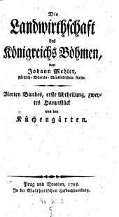 Von den Küchengärten: Bände 1-2;Band 4