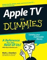 Apple TV For Dummies PDF