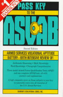 Pass Key to the ASVAB  Armed Services Vocational Aptitude Battery PDF