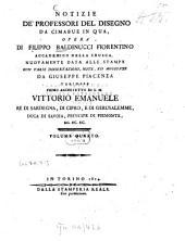 Notizie de'professori del disegno da Cimabue in qua: Volume 4