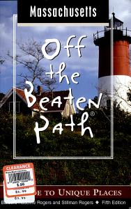 Massachusetts Off the Beaten Path Book