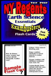 NY Regents Earth Science Test Prep Review--Exambusters Flashcards: New York Regents Exam Study Guide