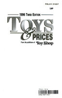 1996 Toys and Prices