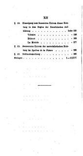 Versuch einer wissenschaftlichen Darstellung der Geschichte der neuern Philosophie: Band 2,Teil 1